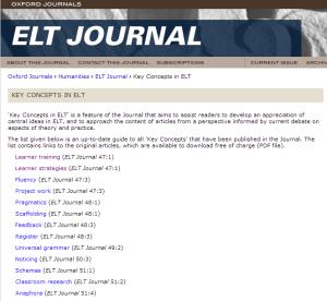 ELT Journal